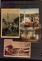 4 Different SARAJEVO BOSNIA MOSQUE ISLAM ISLAMIC RELIGION W/ STAMP Old Postcard - Religions & Beliefs