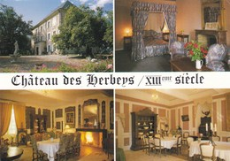 CHATEAU DES HERBEYS CHAUFFAYER (dil114) - Hotels & Restaurants