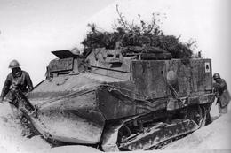 Militaria WW1 - Char Schneider CA1 - 1914-18