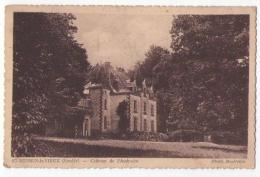 (85) 230, St Saint Mesmin Le Vieux, Baufreton, Château De L'Audraire, Voyagée Sous Pli, Bon état, Angle Inf Droit Corné - France