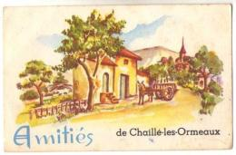 (85) 866, Chaillé Les Ormeaux, Photochrom 323, Amitiés De Chaillé Les Ormeaux - Other Municipalities
