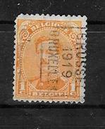 2430 B Bruxelles 1919 - Roller Precancels 1910-19