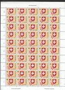 Schweiz **  1141 Jura 23. Kanton Der Konföderation Bogen Postpreis CHF 20,00 - Suisse