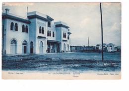 Maroc Alcazarquevir Ksar El Kbir Estacion Gare Edit Casa Goya Cpa Carte Rare - Autres