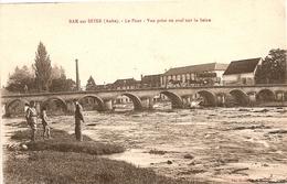 BAR SUR SEINE - PONT - Vue Prise En Aval Sur La Seine - Bar-sur-Seine