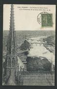 KF75 - 24 - Paris - La Flèche De Notre Dame Et Le Panorama De La Seine - Notre Dame De Paris