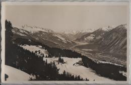 Crans S/Sierre (alt. 1500 M) Tous Les Sports D'hiver Et D'ete - Vermala, Vallee Du Rhone, Bietschhorn, Mte. Leone - VS Valais