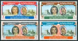 1973 Giordania Jordan 2500th Anniversary Of The Iranian Monarchy Set MNH** Zz43 - Giordania