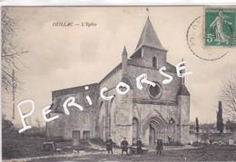 17  Ozillac  L'église (groupe D'enfants) - France