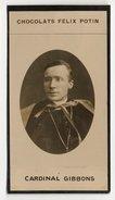 Collection Felix Potin - 1898 - REAL PHOTO - Cardinal Gibbons - Félix Potin