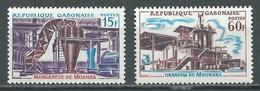 Gabon YT N°180/181 Richesses Minières Neuf/charnière * - Gabon (1960-...)