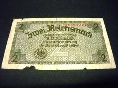 ALLEMAGNE 2 Mark 1940-45  , Pick N° R137 , GERMANY , 3 Eme Reich, Territoires Occupés - [ 9] Duitse Bezette Gebieden