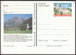 Austria / Postal Stationery / Dalaas / Holidays Resort / Tennis / Swimming / Camping / Skiing / Castle Schwargenau - Holidays & Tourism