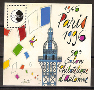 Bloc CNEP 1996 Paris, 50 ème Salon Philatélique D'automne - CNEP