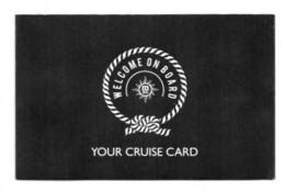 CARTE CROISIERE CRUISE CARD  MSC Opéra - Wochen- U. Monatsausweise