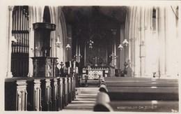 ABBOTSBURY CHURCH INTERIOR - Inglaterra