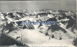 71562 SPORTS SKI PYRENEES DU SUD FRANCE POSTAL POSTCARD - Cartes Postales
