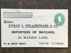 K3 United States Etats-Unis USA Stationery Entier Postal Ganzsache U 311 149x86