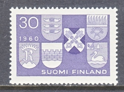 FINLAND   366  *  ARMS OF 6 NEW TOWNS - Stamps