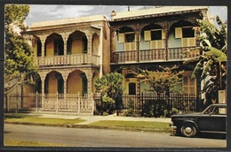 1962 Louisiana, New Orleans, Antebellum Home, Mailed To Czechoslovakia - New Orleans