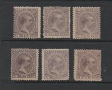 Cuba 1892 King Alphonso X111 Newspaper Stamp Set.Mint. - Cuba (1874-1898)