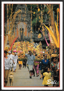 1993 Indonesia, Bali, Village Temple Feast, Mailed To USA - Indonesia