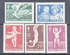 Finland B82-86  *  MEDICINE  INFANTS  T.B. RED CROSS - Medicine