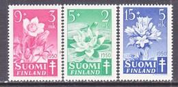 Finland  B 101-3  **  FLOWERS  ANTI TUBERCULOSIS - Finland