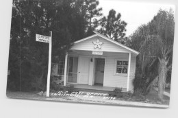 U.Sé Post Office Christmas FL  Real Photo   1955 - Etats-Unis