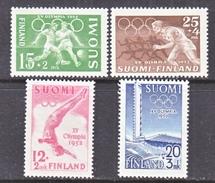 Finland  B 110-3  *   OLYMPICS  1952
