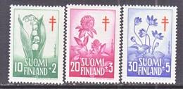 Finland  B 148-50   **  FLORAL   ANTI-TUBERCULOSIS - Finland