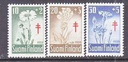 Finland  B 154-6   **  FLOWERS    ANTI-TUBERCULOSIS - Finland