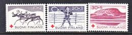 Finland  B 157-9   ** REINDEER  MOUNTAINS   RED CROSS - Finland