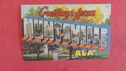 Greetings Huntsville- Alabama  Ref 2560 - Huntsville