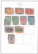 Spagna 1930 Posta Aerea Emissione Goya N.10 Valori Scott.C18/26+C28 - Poste Aérienne