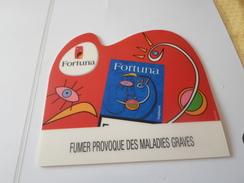 TAPIS SOURIS   PUB  TABAC     FORTUNA  ******  RARE    A SAISIR ***** - Objets Publicitaires