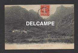 DF / 34 HÉRAULT / ENVIRONS DE LAMALOU / LES GORGES D'HÉRIC / CIRCULÉE EN 1910 - Autres Communes