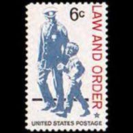 U.S.A. 1968 - Scott# 1343 Policeman Set Of 1 MNH - United States