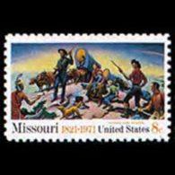 U.S.A. 1971 - Scott# 1426 Missouri State Set Of 1 MNH - Nuevos