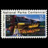 U.S.A. 1972 - Scott# 1452 Wolf Trap Farm 6c MNH - Nuevos