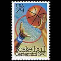 U.S.A. 1991 - Scott# 2560 Basketball Set Of 1 MNH - United States