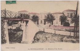 CPA - La Bouilladisse (13) - La Mairie Et Les Ecoles - La Bouilladisse