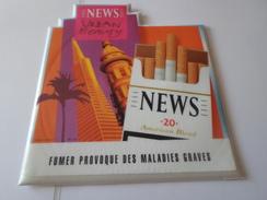 TAPIS SOURIS PUB TABAC   NEWS  URBAN BEAUTY *****   RARE   A   SAISIR ***** - Objets Publicitaires