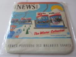 TAPIS SOURIS PUB TABAC   NEWS  THE WINTER COLLECTION   *****   RARE   A   SAISIR ***** - Objets Publicitaires