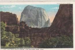 Etats Unis - Utah - Zion National Park - The Great Write Throne : Achat Immédiat - Zion