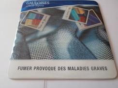 TAPIS SOURIS PUB TABAC   GAULOISES LIBERTE TOUJOURS    *****   RARE   A   SAISIR ***** - Objets Publicitaires