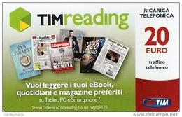 *ITALIA : TIM - TIM READING (Trec-20-C)* - Ricarica Usata - [2] Handy-, Prepaid- Und Aufladkarten