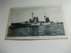 NAVE SHIP  GUERRA  R. NAVE S. GIORGIO PICCOLO FORMATO - Guerra