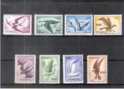 Oiseaux - Turquie - YV.PA 39/46 - 1959 - Série Complète XX/MNH - Vögel