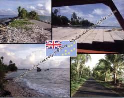 1 X Tuvalu Postcard - Funafuti Island - Tuvalu